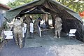 South Carolina National Guard sets up tents at Florence testing site (49898989617).jpg