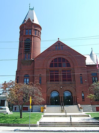 Southbridge, Massachusetts - Southbridge Town Hall