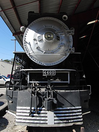 Southern Pacific class GS-6 - SP 4460, the oldest (and sole-remaining) GS-6 at the Museum of Transportation