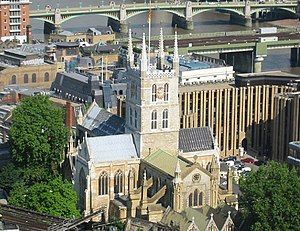 Southwark - Image: Southwark Cathedral, 24th floor
