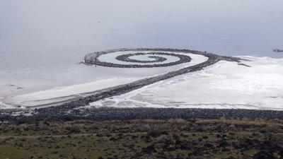 NASA:(APOD) LA FOTO DEL DIA 400px-Spiral-jetty-from-rozel-point