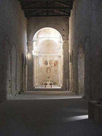 Lombard architecture - Basilica of San Salvatore (Spoleto)