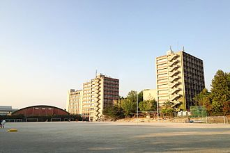 Nanzan University - Sports ground on campus
