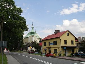 Spytkowice, Wadowice County - Center of the village