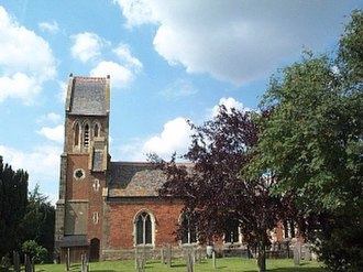 Carlton, Leicestershire - Image: St. Andrew, Carlton geograph.org.uk 120445