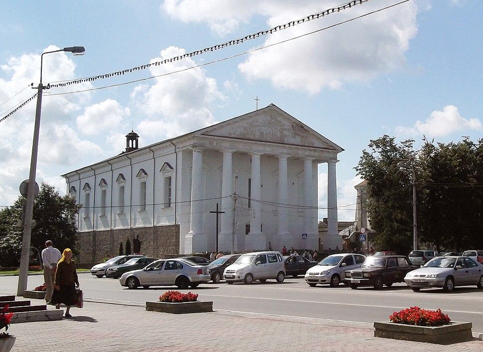St. Joseph Roman Catholic Church in Valozhyn town