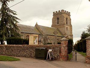 Fornham St Martin - Image: St. Martin, the parish church of Fornham St. Martin geograph.org.uk 632823