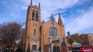 Hermosa, Chicago - St. Philomena Catholic Church.