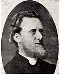 Black and white portrait of William Cave-Browne-Cave, scanned from a pamphlet