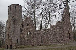 Karlsbad (Baden) - Image: St Barbara Ruine