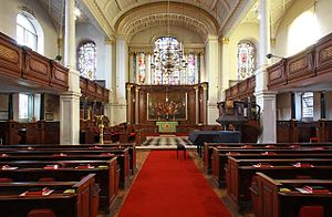 St George's, Hanover Square - Interior of St George's