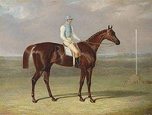 St. Giles (horse) - St. Giles. Painting by John Frederick Herring, Sr.