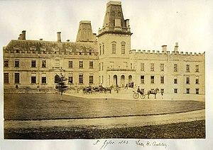 St Giles House, Wimborne St Giles - St Giles House, 1862