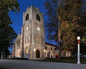Howe Military Academy - Image: St James resized (Large)