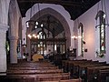 St Lawrence's Church nave and chancel, Bourton-on-the-Water, Gloucestershire.jpg