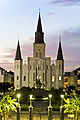 St Louis Cathedral at sundown.jpg