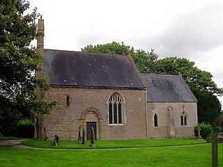 Rudford village in United Kingdom