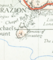 St Michael's Mount map 1946.png