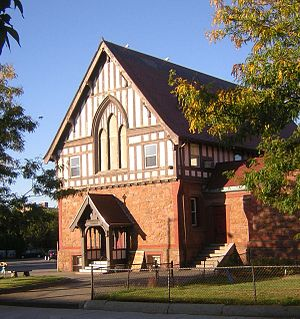 St. Stephen's Memorial Episcopal Church - Image: St Stephens Church Lynn, MA 03