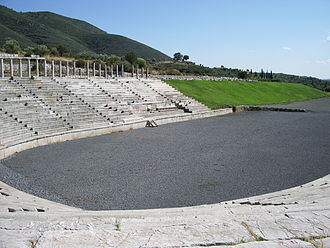 Messene - The ancient Stadion.