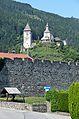 Stadtmauer Friesach, Petersberg, view from Olsator bridge.jpg