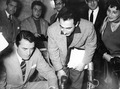 Stamatis Filippoulis with Gregory Peck.tif