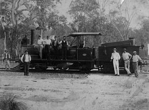 Mount Perry railway line - For information, see text