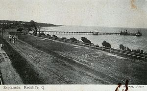 Redcliffe, Queensland - Beachside path, 1906