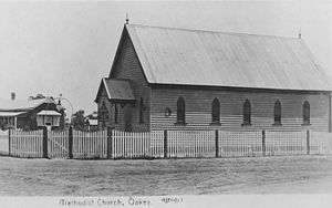 Oakey, Queensland - Oakey Methodist Church ca. 1912