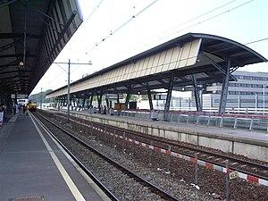 Rotterdam Lombardijen railway station - Image: Station Rotterdam Lombardijen perrons