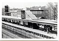 Station head house, detail of metal cornice work at northeast corner, Savin Hill MBTA station (25138291519).jpg