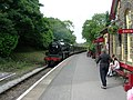 Steam Train Arriving At Oxenhope - geograph.org.uk - 874400.jpg