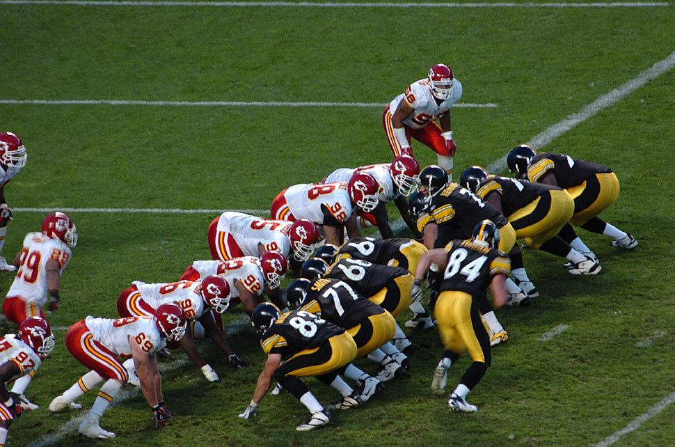 Steelers Chiefs goal line
