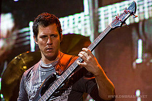 Stefan Lessard - Lessard with the Dave Matthews Band; March 10, 2008 in Club Ciudad de Buenos Aires, Argentina