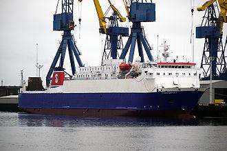 MS Anna Marine - Image: Stena leader