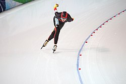 Stephanie Beckert - 5000m speed skating - Vancouver 2010.jpg