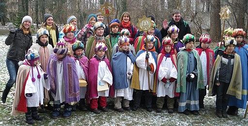 Sternsingergruppe St. Nikoluas Inzersdorf im Jahre 2011