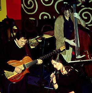Steve Masakowski - Steve Masakowski with his son Martin on double bass and his daughter Sasha on vocals
