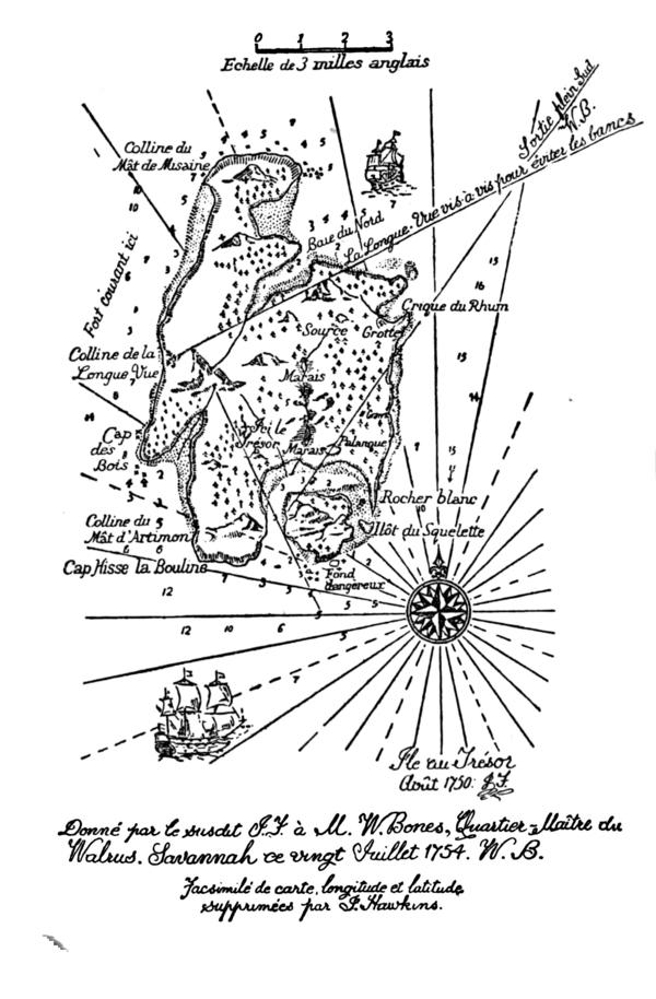 Carte Au Tresor Xviii.L Ile Au Tresor Trad Varlet Wikisource