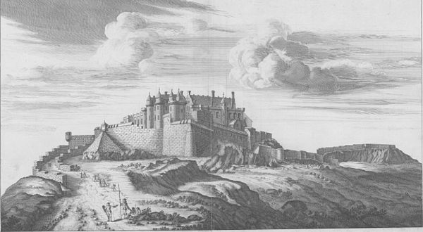 Stirling Castle where the Albany Stewarts were executed Stirling Castle John Slezer.jpg