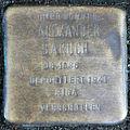 Stolperstein-Alexander Baruch-Koeln-cc-by-denis-apel.jpg