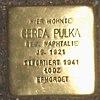 Stolperstein Bernstorffstr 99 für Gerda Pulka