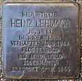Stolperstein Heinz Lehmann Swinemünder Straße 83 0037.JPG