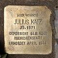 Stolperstein Konstanzer Str 1 (Wilmd) Julius Katz.jpg