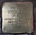 Stolperstein Konstanzer Str 62 (Wilmd) Georg Plaut.jpg