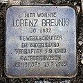 Stolperstein Miltenberger Weg 9 (Panko) Lorenz Breunig.jpg