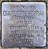 Stolperstein Waldmannstr 1 (Lankw) Charlotte Kobrak.jpg