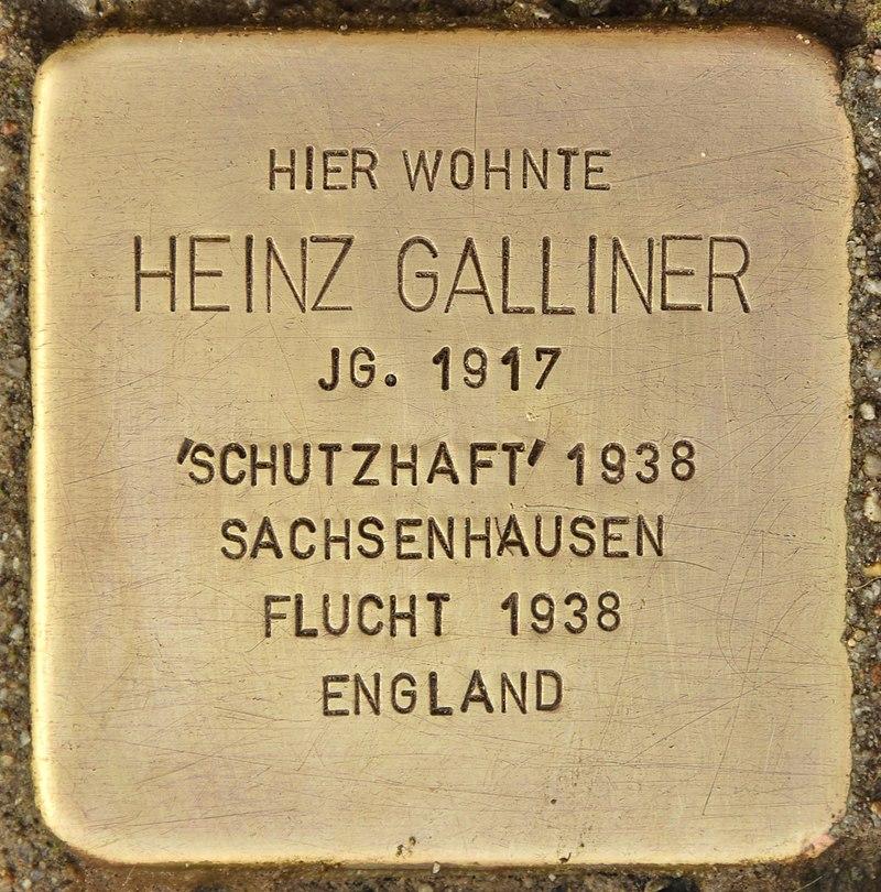 Stolperstein für Heinz Galliner (Finsterwalde).jpg