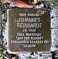 Stolperstein für Johannes Reinhardt, Düsseldorfer Strasse 59, Bad Cannstatt, Stuttgart.JPG