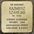 Stolperstein für Kazimierz Szawejko (Fontenay-sous-Bois).jpg